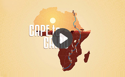 Cape to Cairo – Film Title Animation